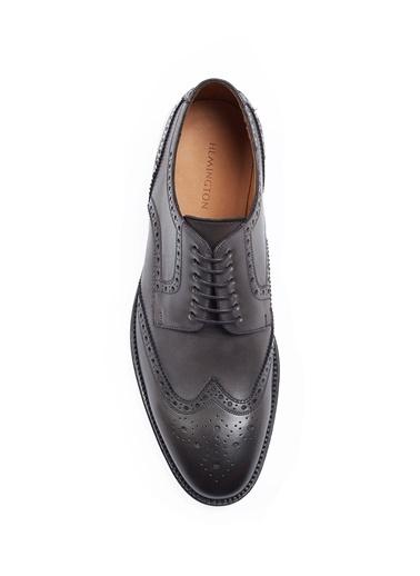 Hemington El Yapımı Klasik Deri Ayakkabı Siyah